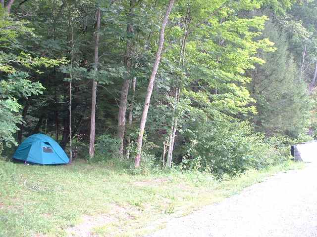 My place on the Greenbrier River Trail